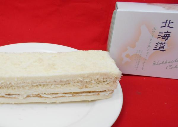 ホワイトミルフィーユケーキのイメージ画像