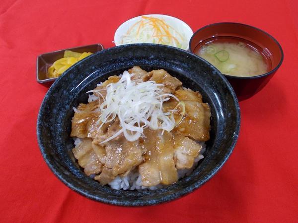 第3位「豚丼(サラダ付き)」のイメージ画像