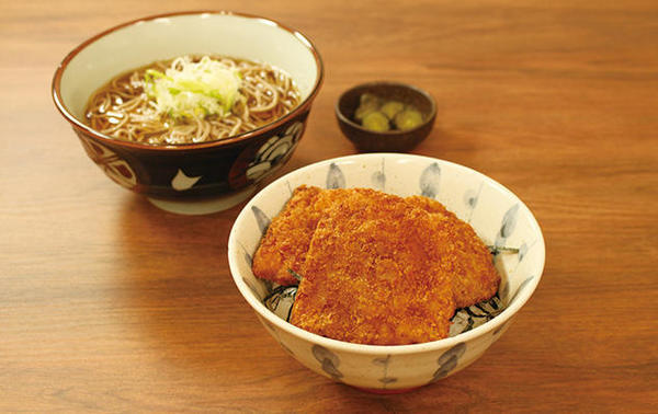 第1位「タレカツ丼かけそば・うどんセット」のイメージ画像