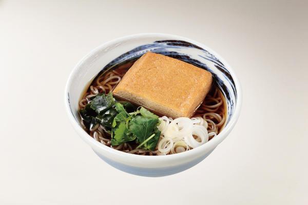 第3位「栃尾揚げのキツネ蕎麦」のイメージ画像