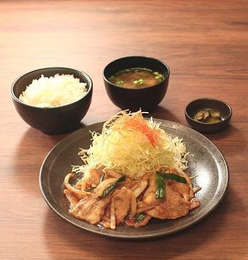 第2位「スタミナ焼肉定食」のイメージ画像