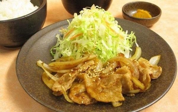 第2位「生姜焼定食(5枚)」のイメージ画像