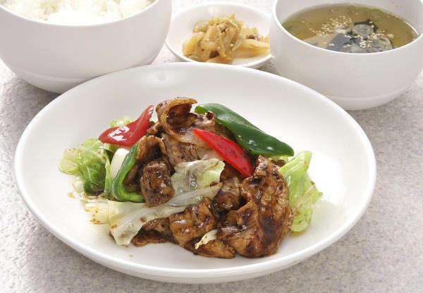 第3位「回鍋肉定食」のイメージ画像