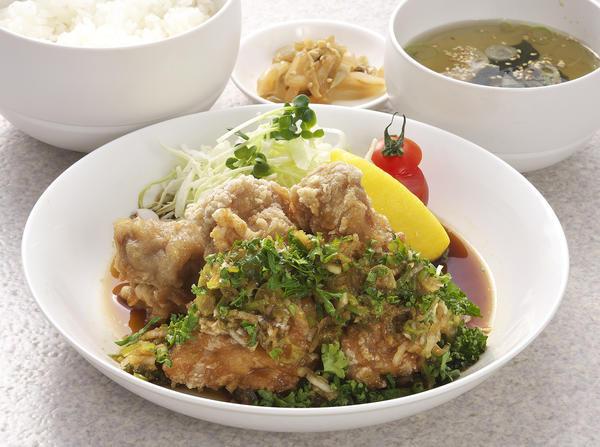 油淋鶏定食のイメージ画像