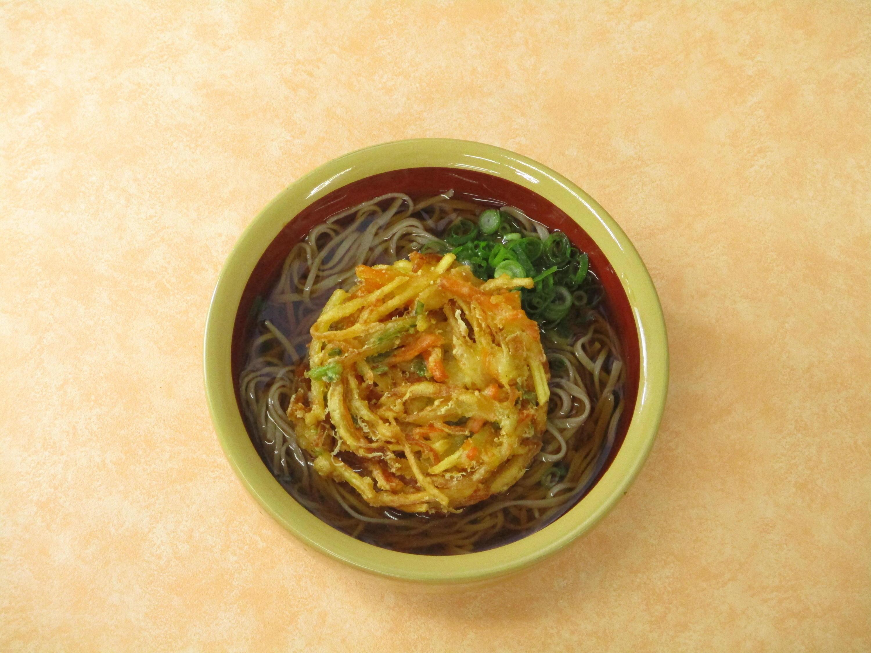 第2位「野菜かき揚げそば(うどん) 」のイメージ画像