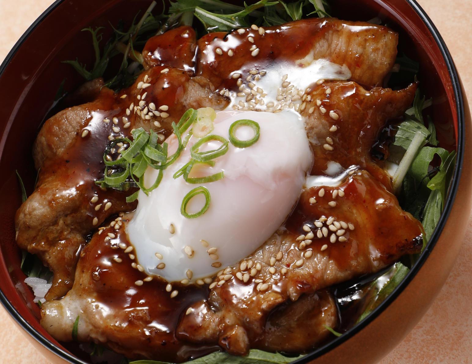 第2位「さくらポークの豚丼(タレ)」のイメージ画像