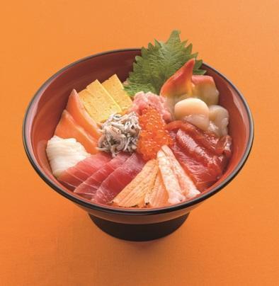 第1位「海山海鮮丼」のイメージ画像