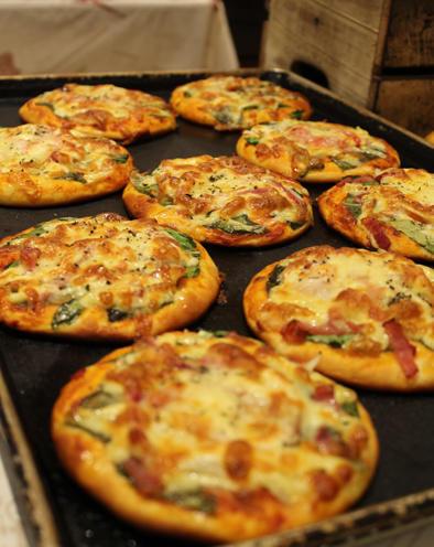 第2位「たっぷり野菜のピザ」のイメージ画像