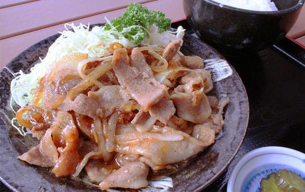 第1位「みのりの生姜焼き定食」のイメージ画像