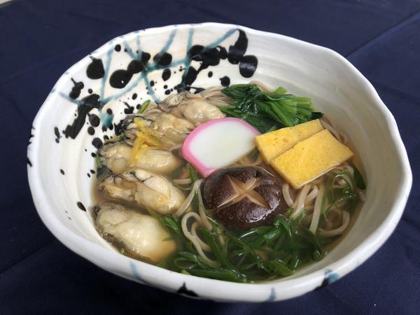 第1位「牡蠣そば 」のイメージ画像