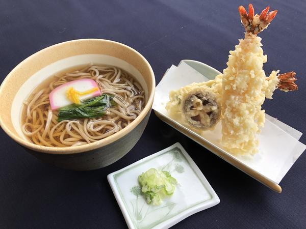 海老天ぷらそばのイメージ画像