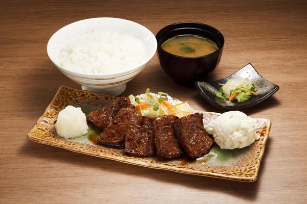 第1位「常陸牛焼肉定食」のイメージ画像