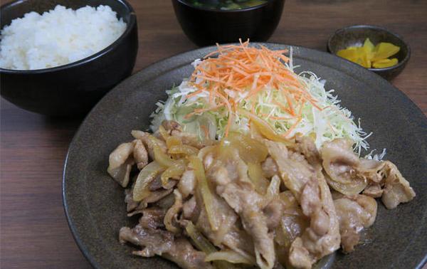 第1位「生姜焼き定食」のイメージ画像