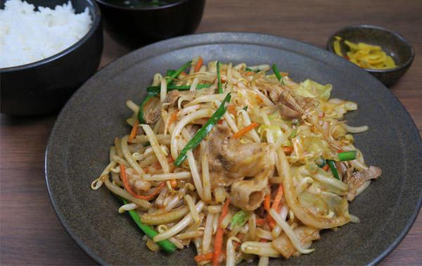第2位「味噌野菜炒め定食」のイメージ画像