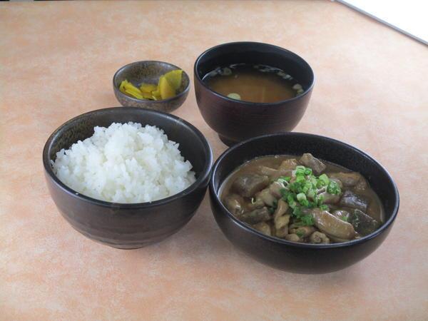 第2位「もつ煮定食」のイメージ画像