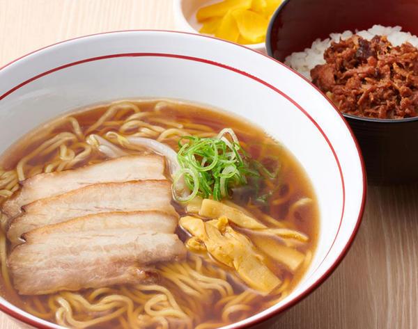 醤油ラーメンセット(南部どりそぼろご飯)のイメージ画像