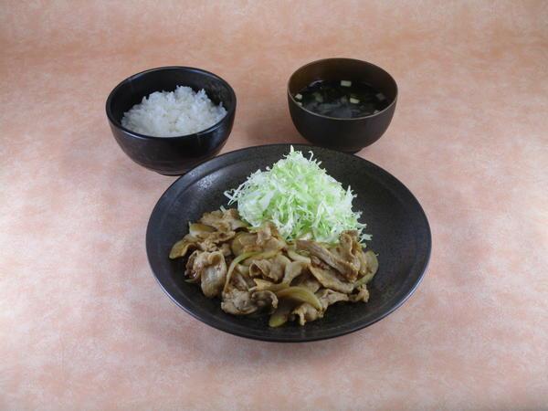 生姜焼定食のイメージ画像