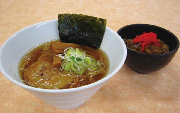 第3位「喜多方醤油ラーメンセット(ミニ牛丼)」のイメージ画像