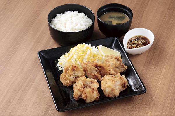 第2位「唐揚げ定食 油淋鶏タレ付き」のイメージ画像
