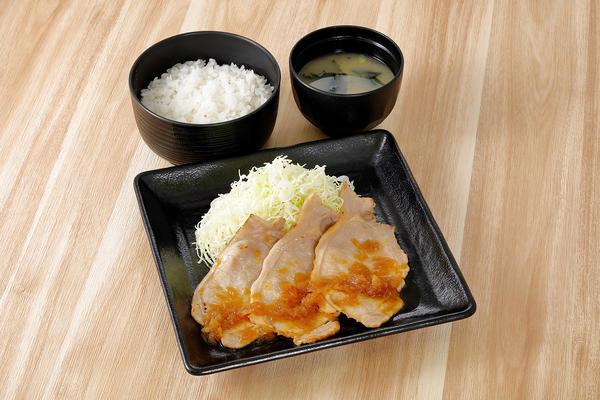 第3位「生姜焼き定食」のイメージ画像