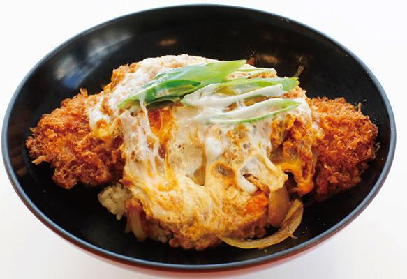 第1位「越乃黄金豚ロースカツ丼」のイメージ画像