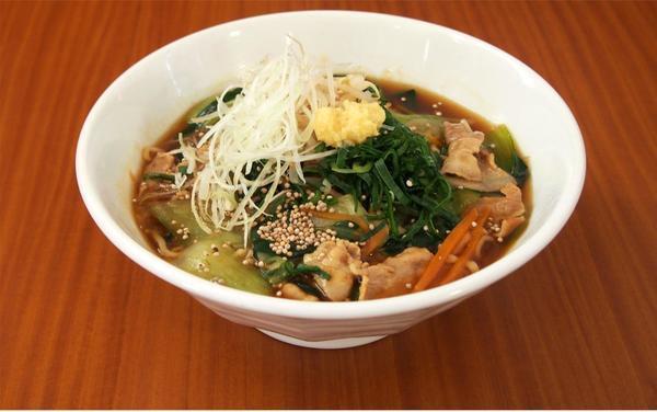 第2位「阿賀町産エゴマとチンゲン菜のあんかけラーメン」のイメージ画像