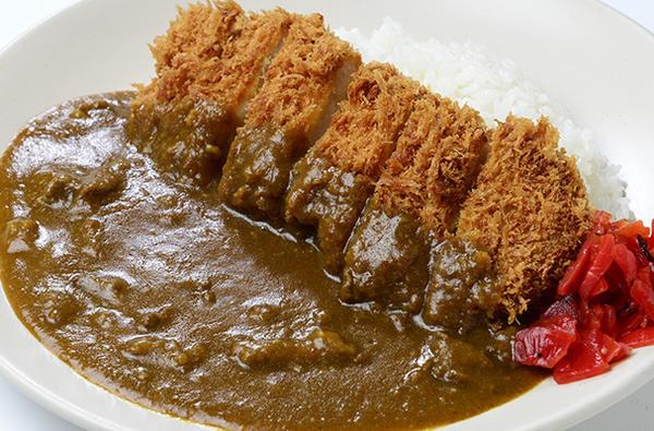 越乃黄金豚ロースカツカレーのイメージ画像