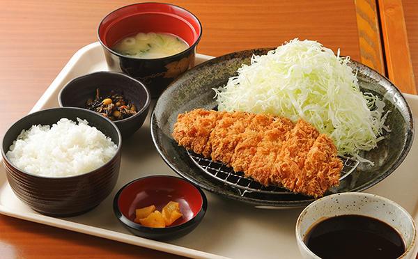 越乃黄金豚ロースカツ定食のイメージ画像