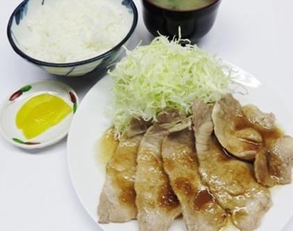 道産豚ロース生姜焼き定食のイメージ画像