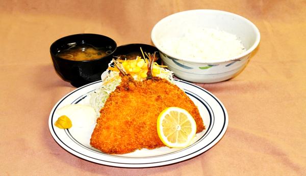 第3位「アジフライ定食」のイメージ画像