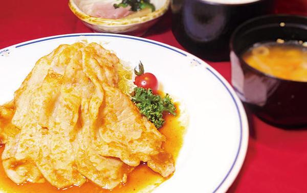 第2位「三元豚の生姜焼き定食」のイメージ画像