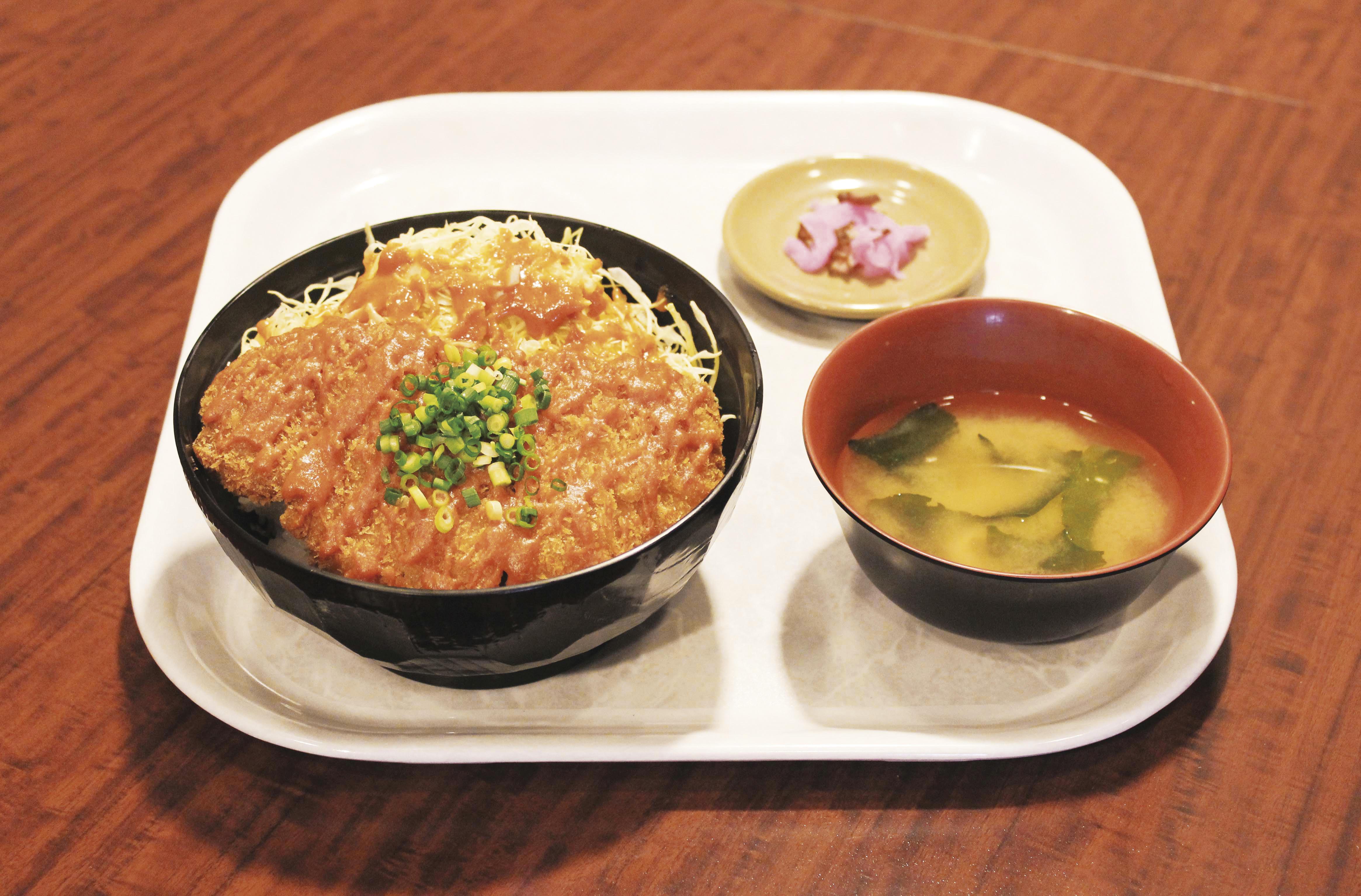 第2位「東松山味噌かつ丼」のイメージ画像