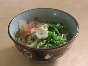第3位「のらぼう菜そば・うどん」のイメージ画像