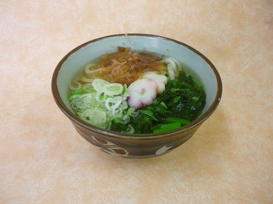 第2位「のらぼう菜うどん・そば」のイメージ画像