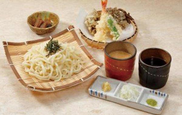第1位「水沢うどん&天ぷら膳」のイメージ画像