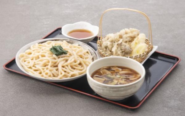 第1位「上里名物肉汁うどん 秩父舞茸と深谷ねぎの天ぷらセット」のイメージ画像