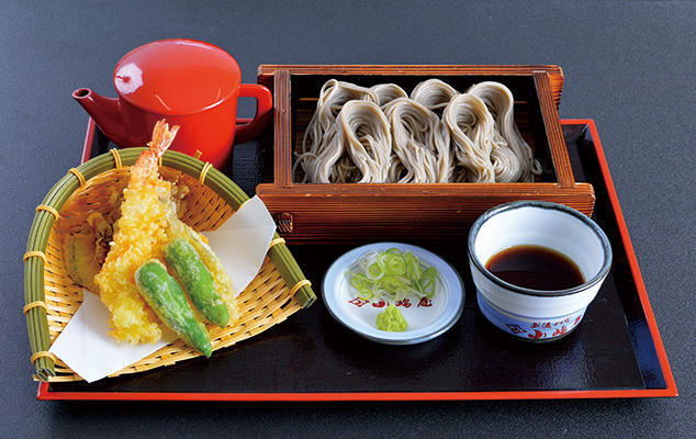 第2位「天ぷらとへぎそば」のイメージ画像