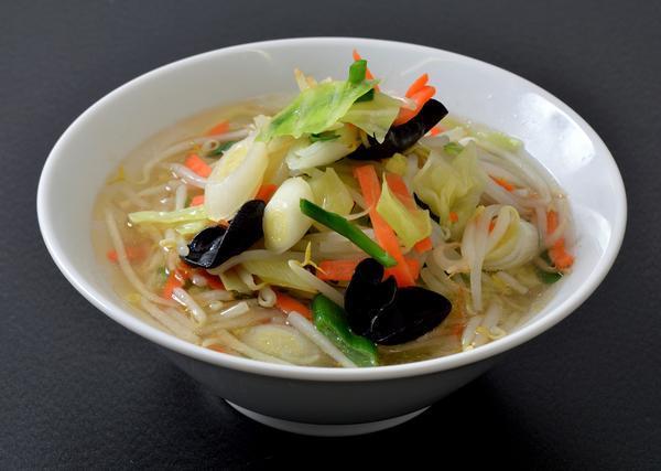 第2位「野菜たっぷり塩タンメン」のイメージ画像