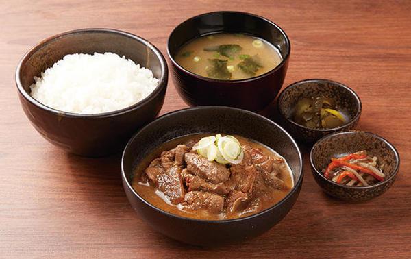 第1位「もつ煮定食」のイメージ画像