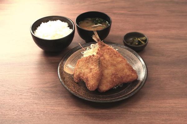 第3位「ブリカツとアジフライ定食」のイメージ画像
