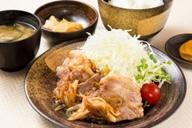 和豚もちぶたの生姜焼定食のイメージ画像