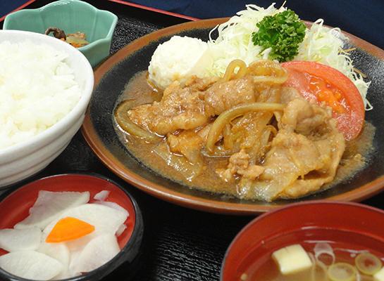 生姜焼き定食のイメージ画像