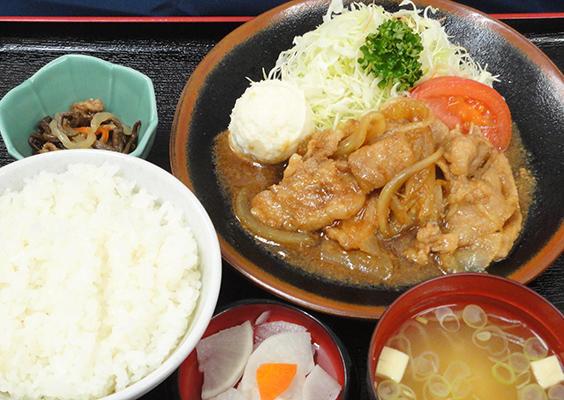 第3位「生姜焼定食」のイメージ画像