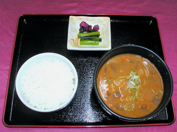 第3位「もつ煮定食」のイメージ画像