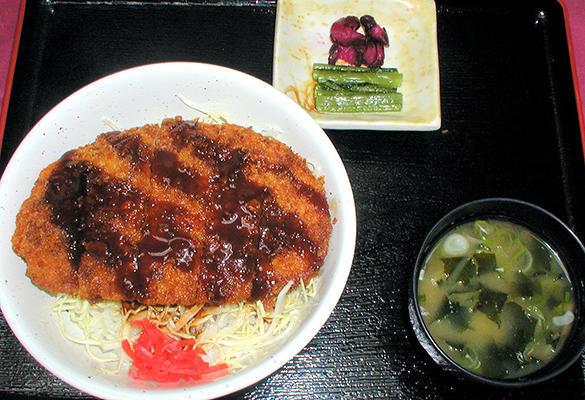 第3位「ジャンボチキンカツ丼」のイメージ画像