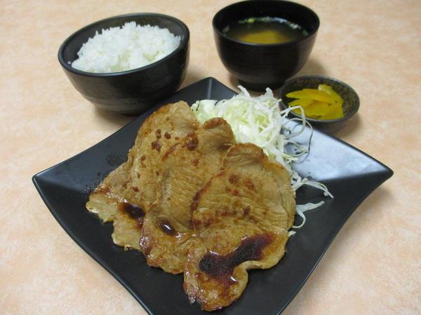 第3位「上州麦豚生姜焼き定食」のイメージ画像