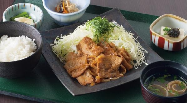 生姜焼御膳  のイメージ画像