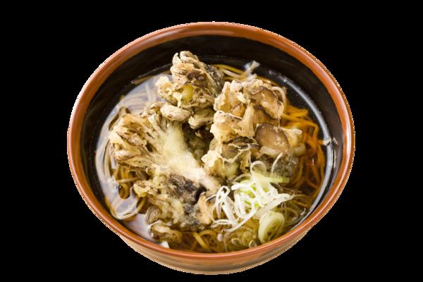 第3位「上州舞茸天ぷらそば」のイメージ画像