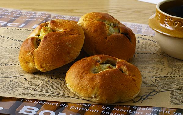釜めしパン(わさび漬・山ごぼう)のイメージ画像