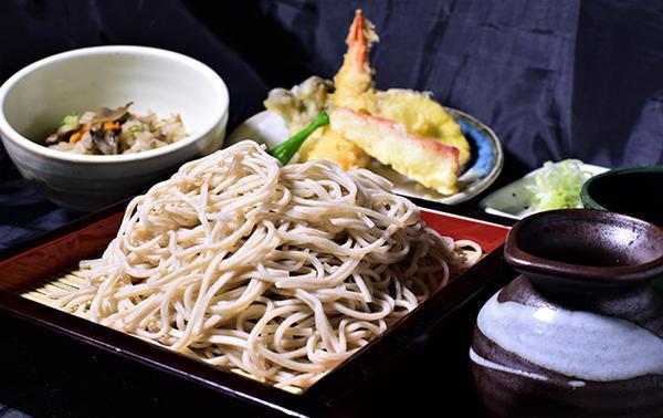 二八蕎麦と季節ご飯~天婦羅添え~のイメージ画像